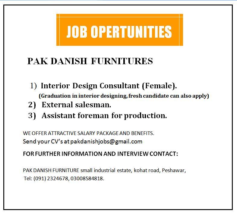 Interior design consultant female external salesman for Interior design consultant jobs